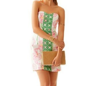 Lilly Pulitzer Angela Strapless Dress Size 2